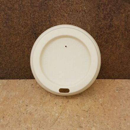Sip Lids for 8oz Paper Cups - Compostable PLA